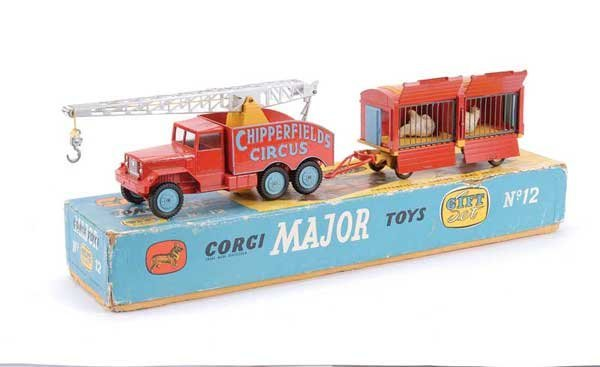 "2024: Corgi No.GS12 ""Chipperfields Circus"" Gift Set"