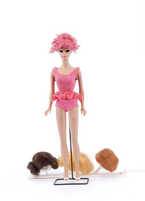 2469: Mattel Vintage Miss Barbie, 1964