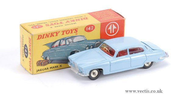 3003: Dinky No.142 Jaguar Mk.X South African Issue