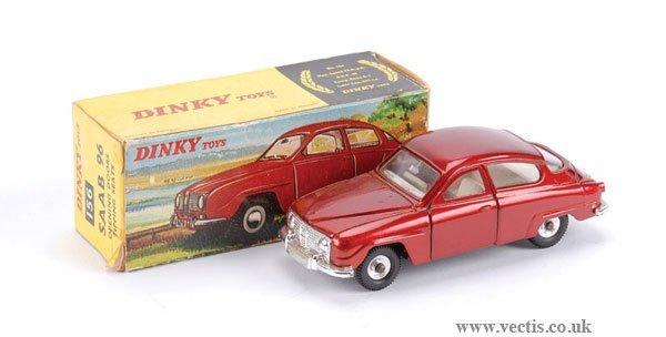 3005: Dinky No.156 Saab 96