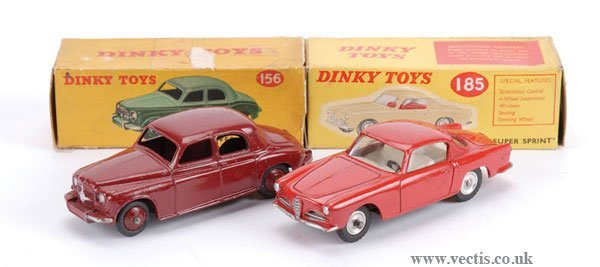 3006: Dinky No.156 Rover 75 Saloon