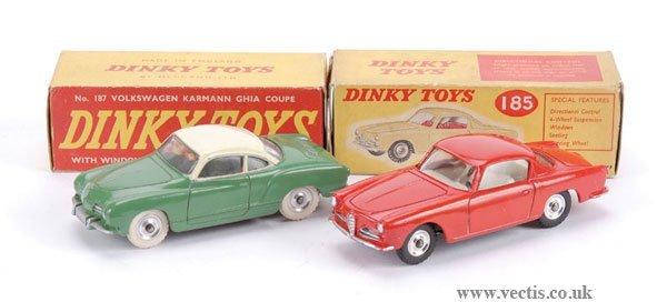 3010: Dinky No.185 Alfa Romeo 1900 Sprint & Others