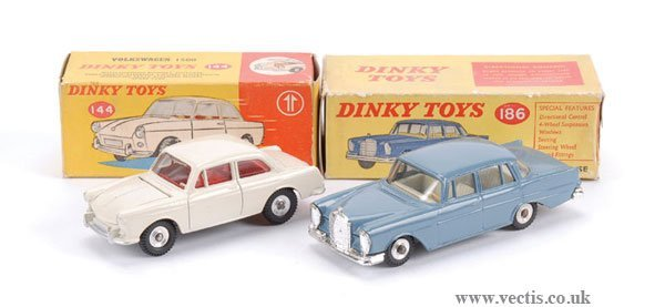 3011: Dinky No.144 VW 1500 & Others