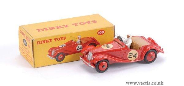 3012: Dinky No.108 MG Midget Sport