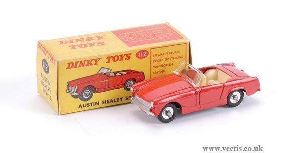 3013: Dinky No.112 Austin Healey Sprite