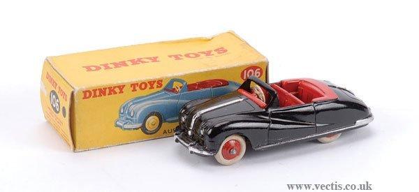 3016: Dinky No.106 Austin Atlantic Convertible