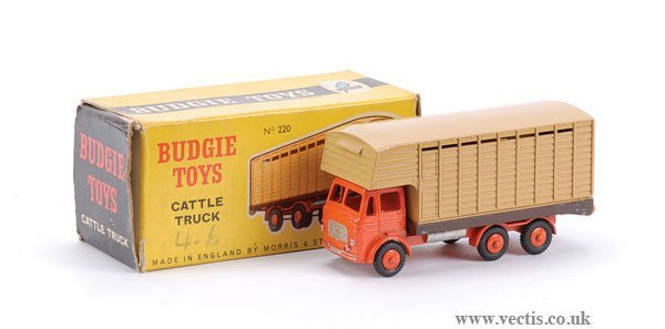 3295: Budgie Toys No.220 Leyland Hippo Cattle Truck