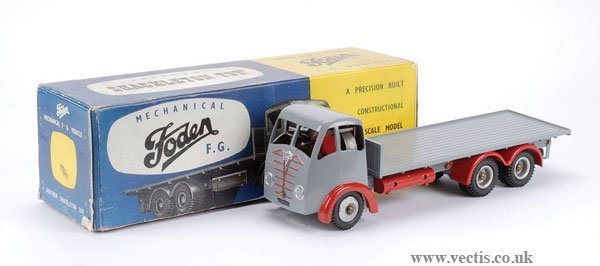 3495: Shackleton Foden FG Flatbed Lorry