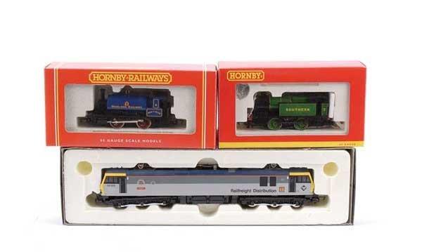 4005: Hornby Railways Steam & Overhead Electric Locos