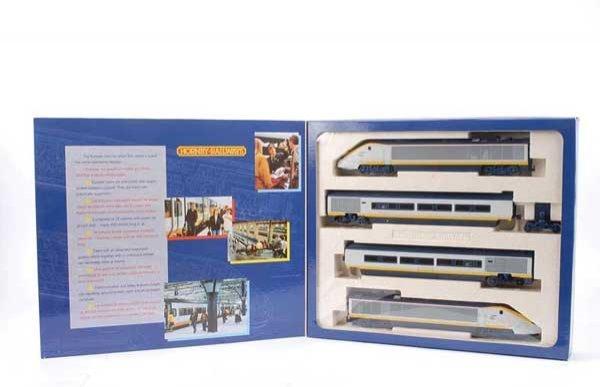 4007: Hornby R665 Class 373 4-car Eurostar