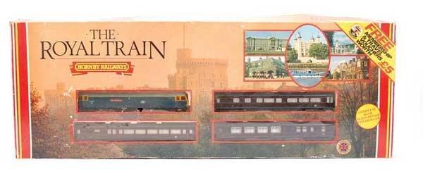 "4010: Hornby R557 ""The Royal Train"" Set"