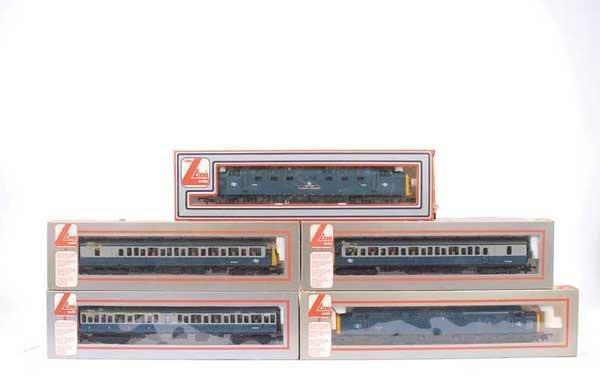4018: Lima BR Blue Diesel Locos