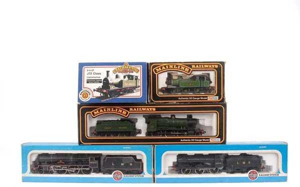4022: OO Gauge Pre-nationalisation Steam Locos