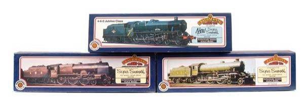 4023: Bachmann Pre-nationalisation 4-6-0 Steam Locos