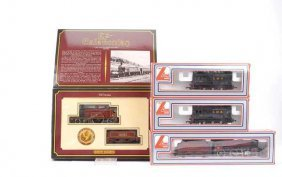 OO Gauge - A Group Of LMS Steam Locos