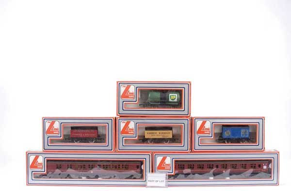 4051: Lima Passenger and Goods Rolling Stock