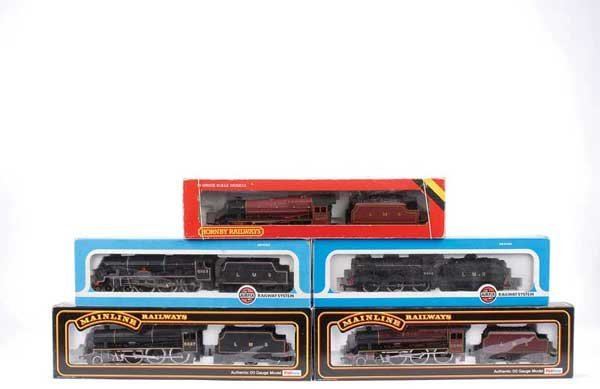 4052: OO Gauge LMS Steam and Diesel Locos