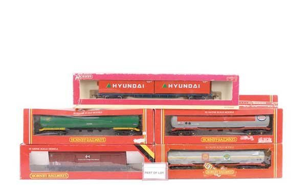 4058: OO Gauge - A Group of Goods Rolling Stock