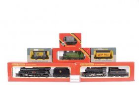 OO Gauge Locos And Goods Rolling Stock