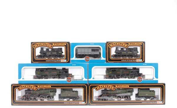 4063: OO Gauge Steam Locos and Rolling Stock