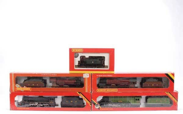 4064: Hornby Railways - A Group of Steam Locos