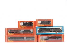 OO Gauge - A Group Of Steam Locos