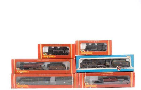 4068: OO Gauge - A Group of Steam Locos