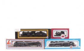 OO Gauge BR (MR) Black Livery Steam Locos