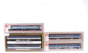 OO Gauge - A Group Of Diesel Locos