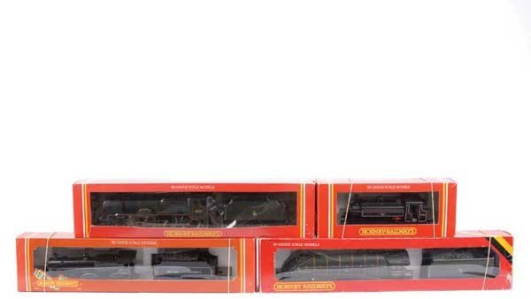4084: Hornby Railways - A Group of BR Steam Locos