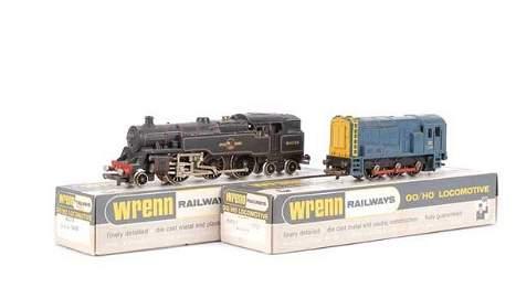 4135: Wrenn Steam and Diesel Locos