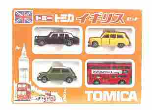 Tomica London Gift Set