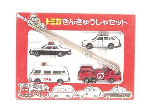 Tomica Emergency Services Gift Set