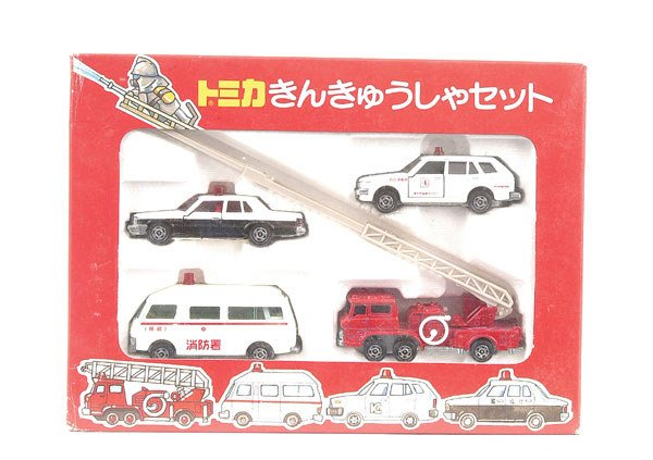 3003: Tomica Emergency Services Gift Set