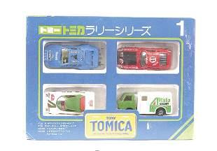 Tomica Rally Gift Set