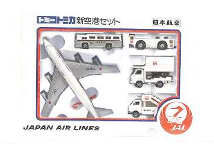 Tomica Japan Airlines Gift Set