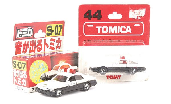 3014: Tomica No.44 Nissan 300ZX Police Car
