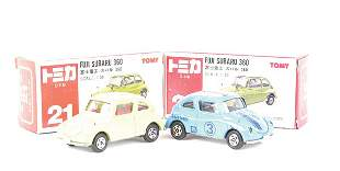 Tomica 2 x No.21 Subaru 360