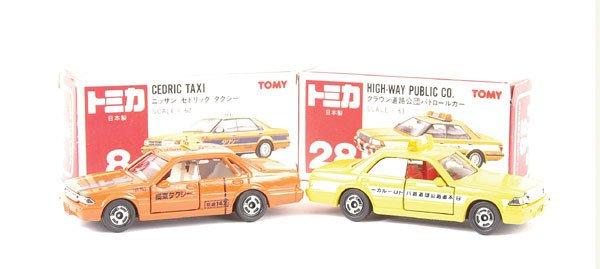 3017: Tomica No.8 Nissan Cedric Taxi