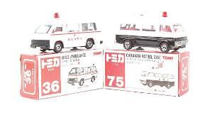 Tomica No.36 Toyota Hiace Ambulance