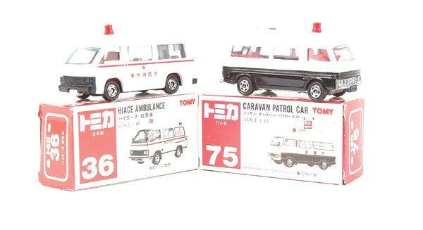 3021: Tomica No.36 Toyota Hiace Ambulance