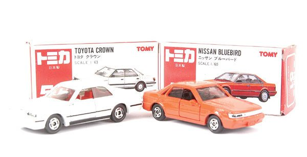 3022: Tomica No.51 Nissan Bluebird