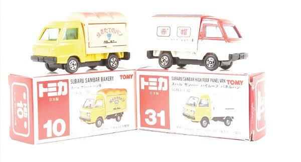 3023: Tomica No.10 Subaru Sambar Bakery Truck