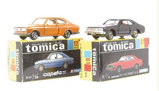 3045: Tomica No.12 Mazda Capella Coupe