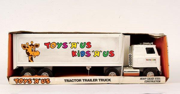 3132: Ertl No.3958 DL Truck & Semi Trailer