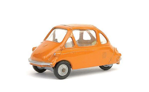 1: Corgi No.233 Heinkel Economy Car