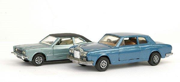 "17: Corgi - Ford Cortina ""Graham Hill"" & Rolls Royce"