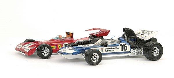18: Corgi - Surtees TS9 F1 & Ferrari 312 B2
