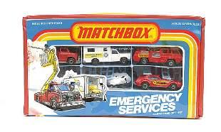 Matchbox Emergency Services 5-piece Set