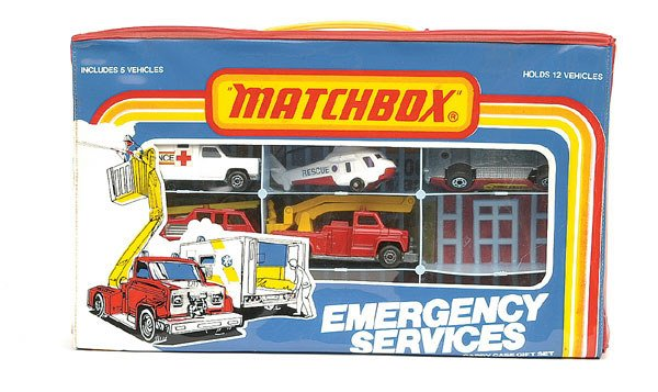 1003: Matchbox Emergency Services 5-piece Set